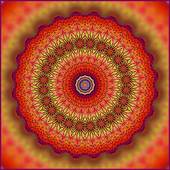 3D Kaleidoscope Fun by Liz Mackney