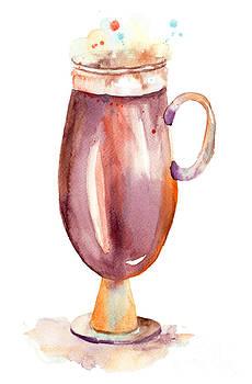 A cup of coffee  by Regina Jershova