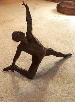 A male dancer by Olivier Duhamel