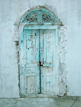 Abandoned Doorway by Donna Corless