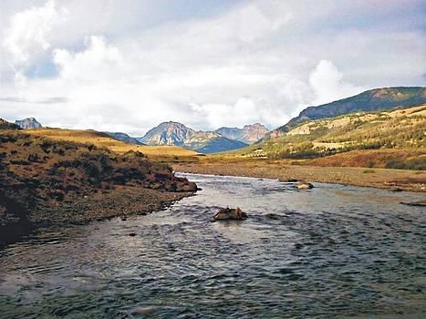 Joe Duket - Absaroka Mountains From Soda Butte Creek