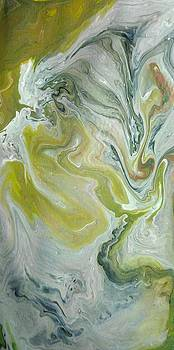Acrylic Pour 212014 by Sonya Wilson
