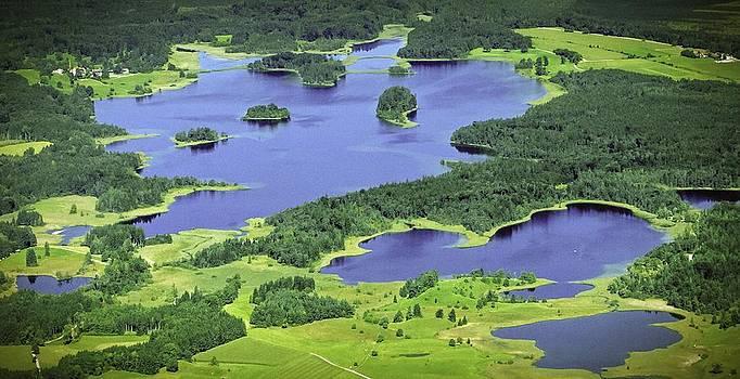 Aerial Lakes by Bjoern Kindler