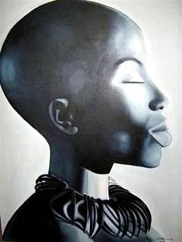 African Elegance - Original Artwork by Tracey Armstrong