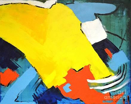 After Kandinski by Shirley Barone