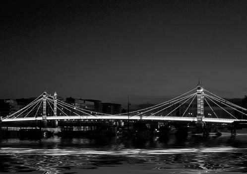 David French - Albert Bridge Thames  London