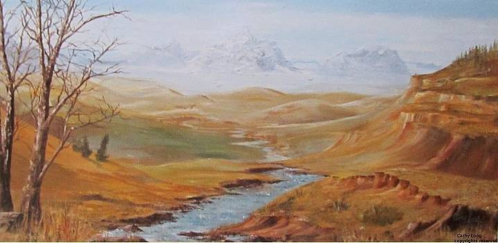 Alberta Foothills by Cathy Long
