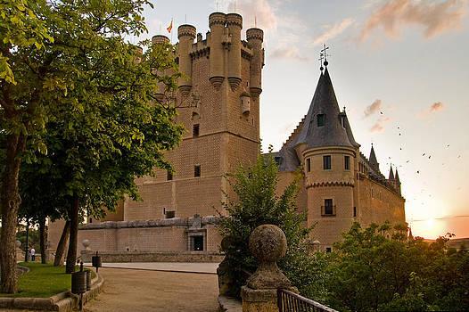 Alcazar de Segovia by Viacheslav Savitskiy