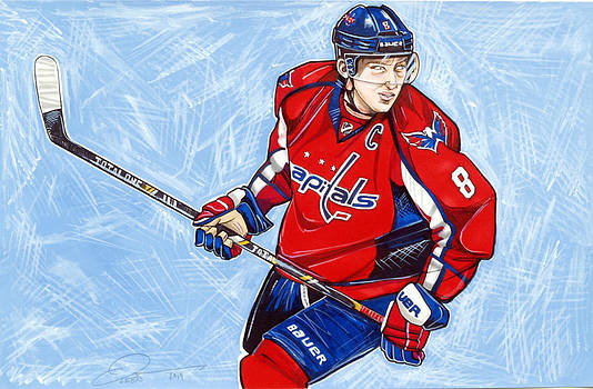 Alexander Ovechkin by Dave Olsen