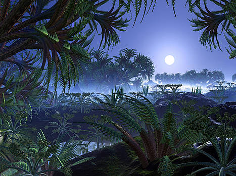 Alien Jungle World by Spinning Angel