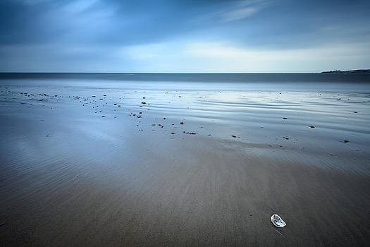 Alone by the beach by Vinicios De Moura