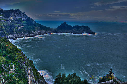 Enrico Pelos - AMALFI COAST The tower on the rock