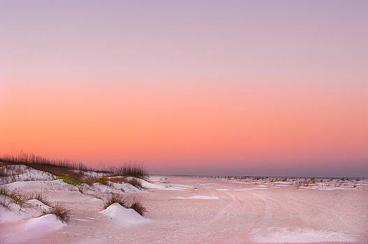 Anastasia Beach Sunset by Stacey Sather