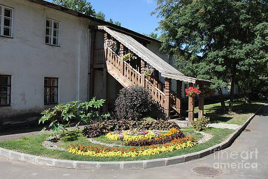 Ancient porch by Evgeny Pisarev