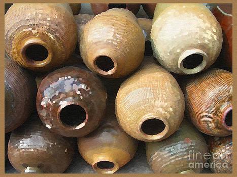 Ancient Wine Jugs by Jack Gannon