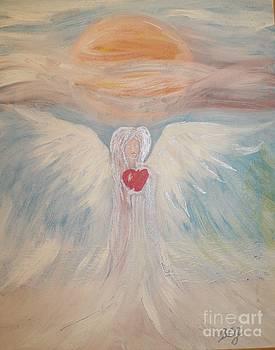 Angel by Bozena Chmielewska