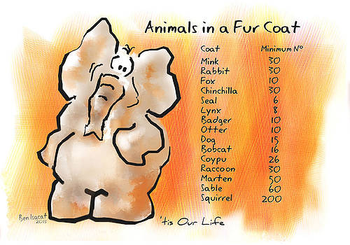 Animals in a Coat by Ben Isacat