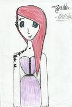 Anime Character by Georgia Mclellan