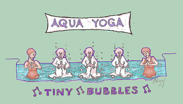 Aqua Yoga by R  Allen Swezey