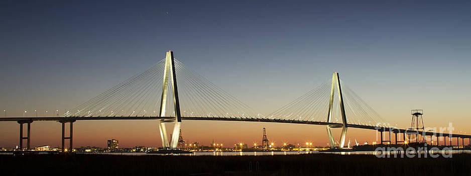 Arthur Ravenel Jr Bridge over the Cooper River Charleston SC by Dustin K Ryan