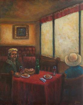 Artist's Cafe by Jana Baker