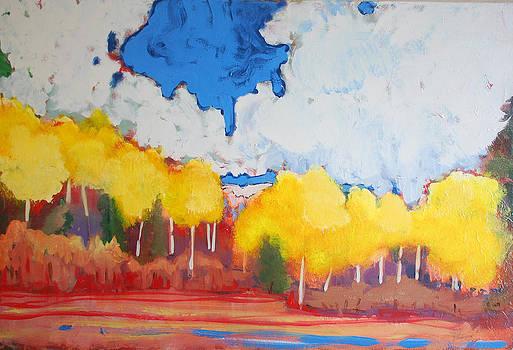 Aspens by Kurt Hausmann