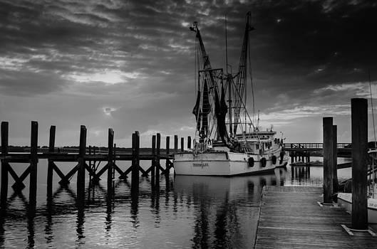 At Dockside by Richard Kook
