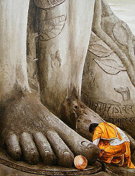 At Feet by E Loganathan