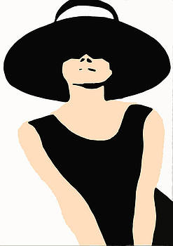 Audrey Hepburn by Csongor Licskai