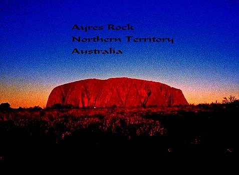 Gary Wonning - Ayres Rock
