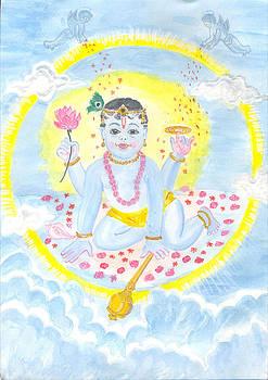 Baby Visnu by Parimala Devi Namasivayam