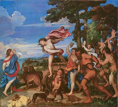 Titian - Bacchus and Ariadne