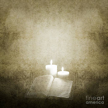 Background with Candles by Diuno Ashlee