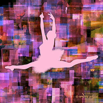 Ballerina Silhouette - Ballet Move 5 by Alfred Price