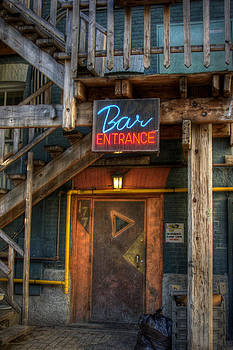 Bryan Scott - Bar Entrance