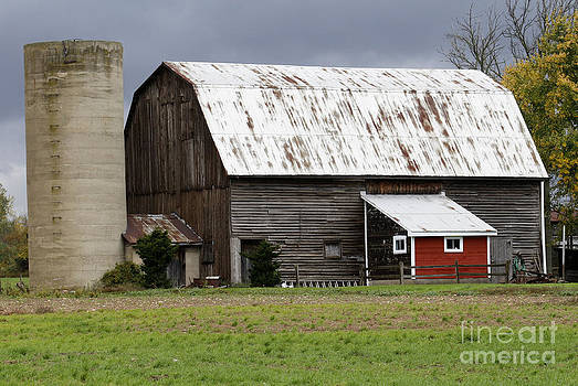 Barn by Kathy DesJardins