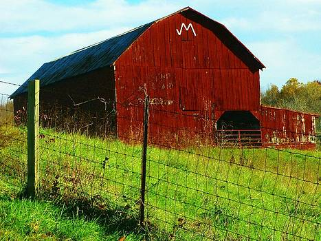 Barn With an M by Joyce Kimble Smith