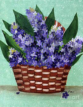 Barbara Griffin - Basket of Hyacinths