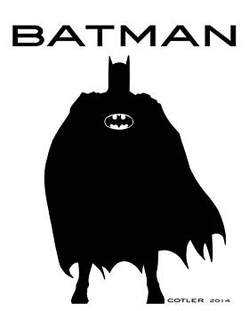 Batman by GR Cotler