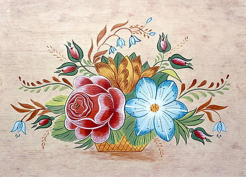 Bavarian Floral  by Brenda Ruark