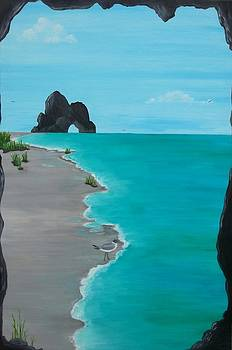Beach Cave 1 by Diana Garcia