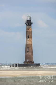 Dale Powell - Morris Island Lighthouse Beacon of Light