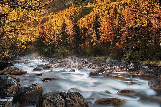 Leland Howard - Beartooth Mountains Sunrise