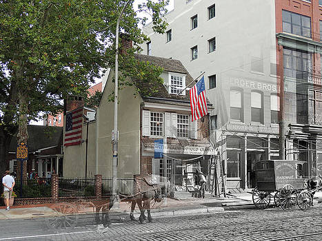Betsy Ross House by Eric Nagy