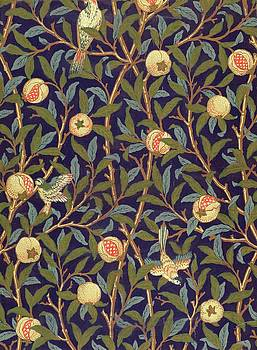William Morris - Bird And Pomegranate