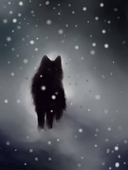 Black Wolf by Cassandra Gallant