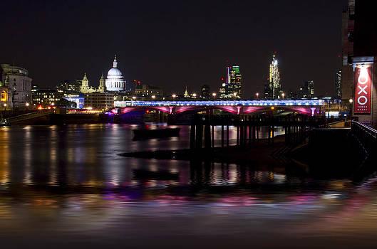 David French - Blackfriars Bridge Thames London