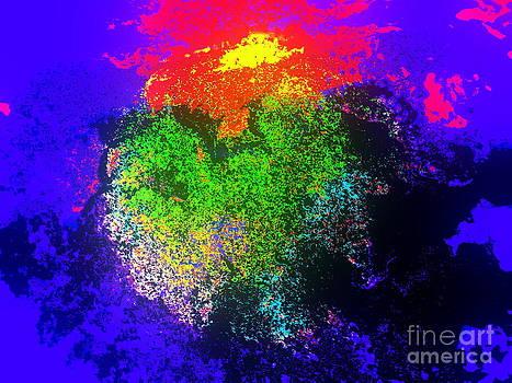 Blooming nebula by Pauli Hyvonen