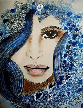 Blue 1 by Suzanne Thomas