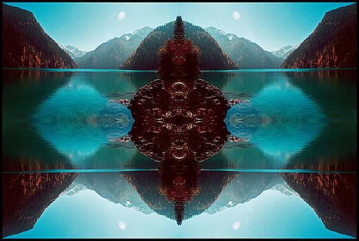 Blue Buddha by Kevin  Gerien